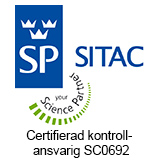 Certifierad kontrollansvarig SC0692